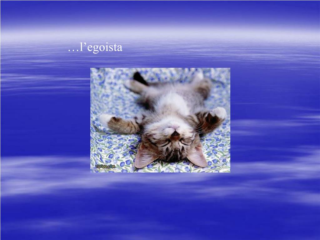 …l'egoista