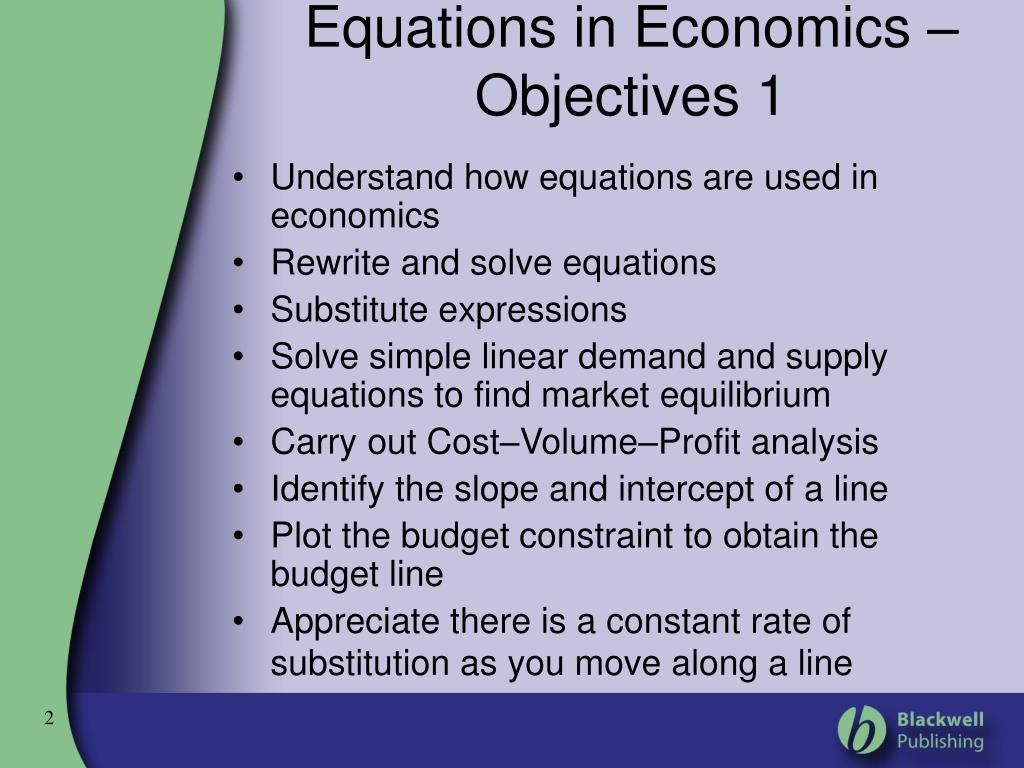 how to find a demand equation