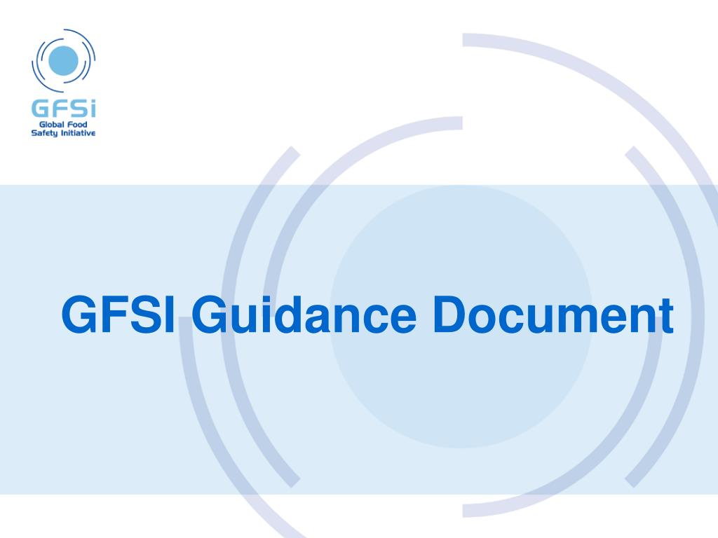 GFSI Guidance Document