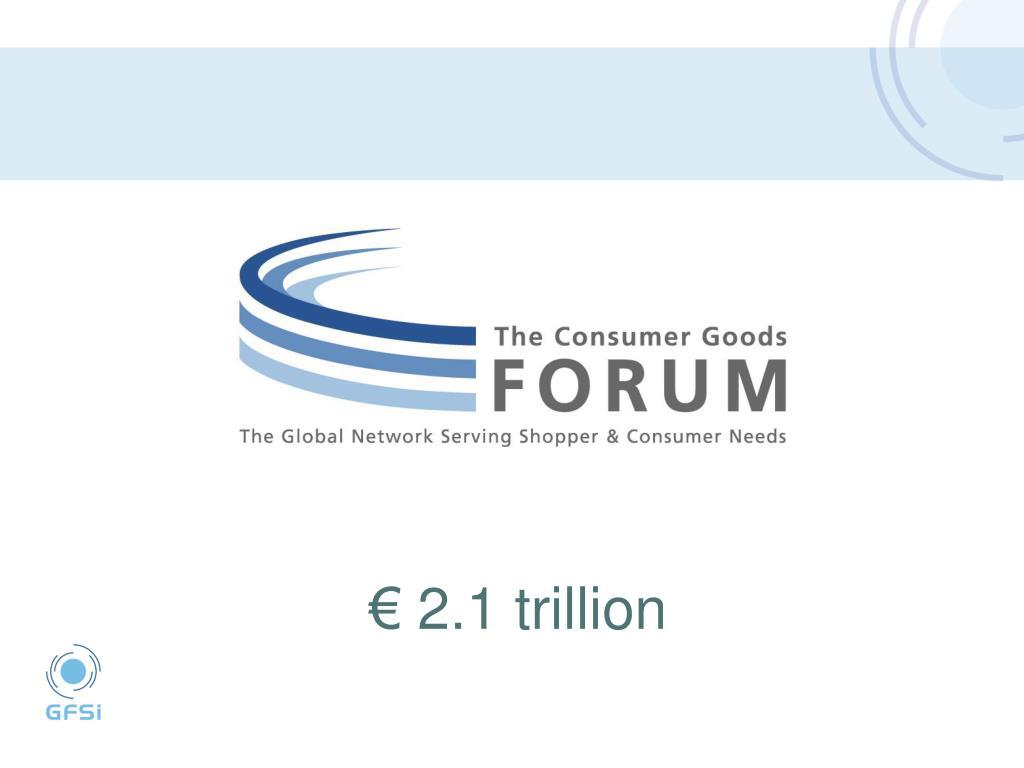 € 2.1 trillion