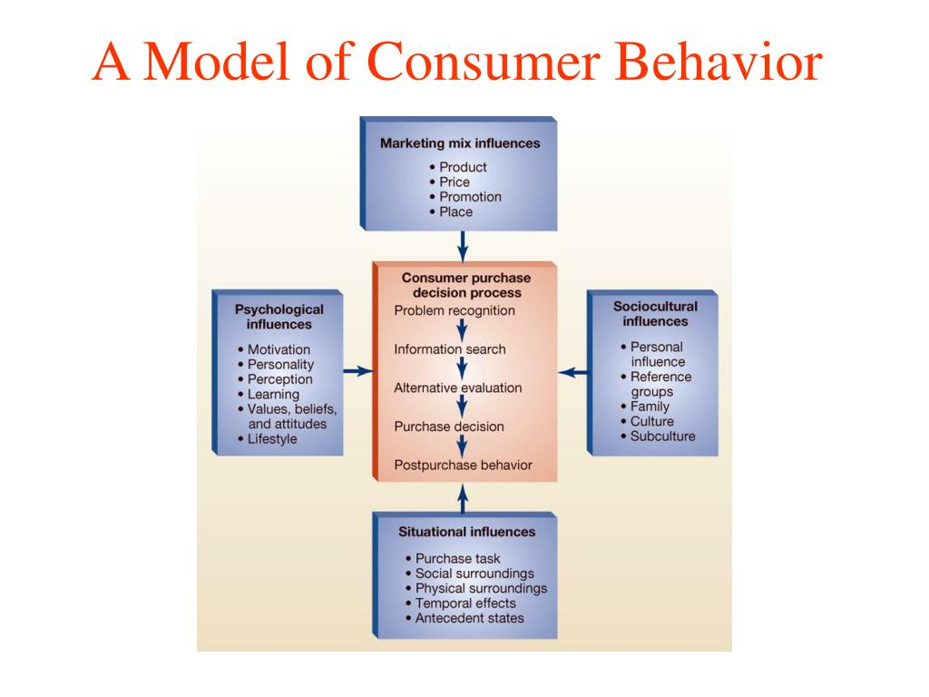 A Model of Consumer Behavior