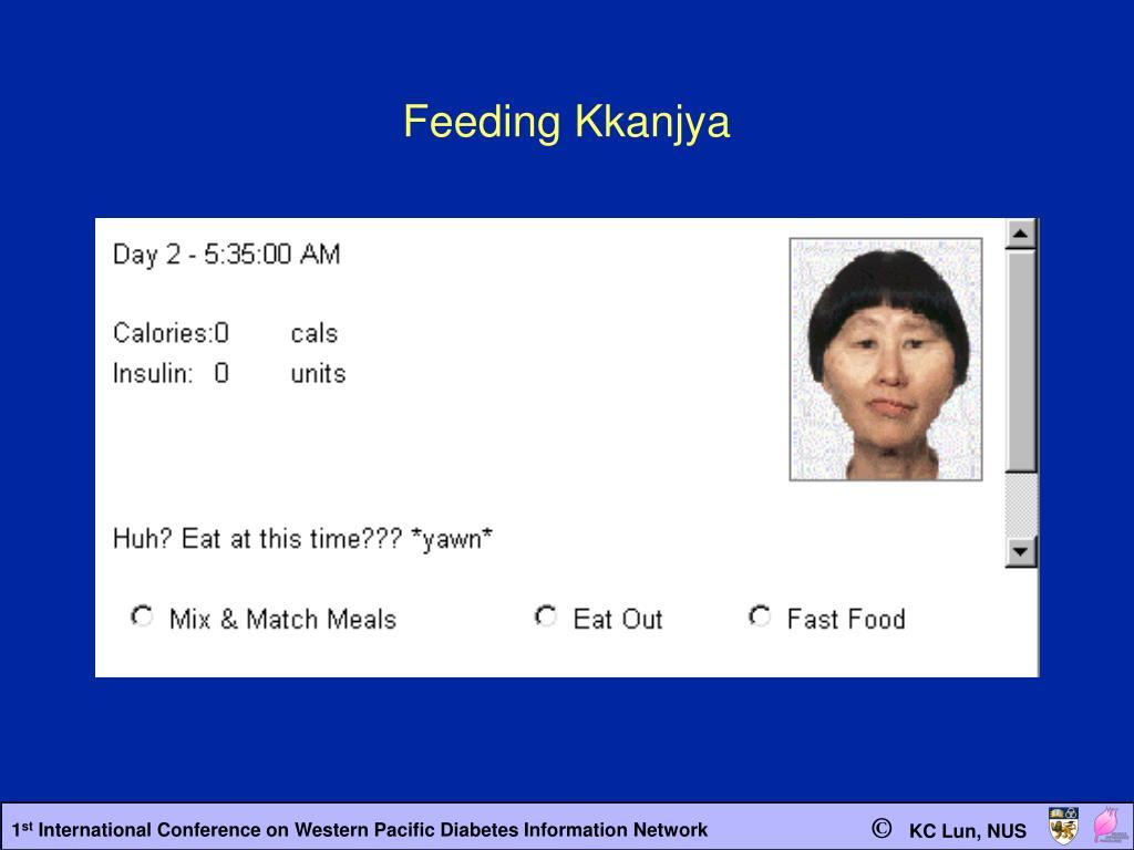 Feeding Kkanjya