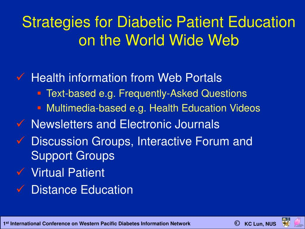 Strategies for Diabetic Patient Education
