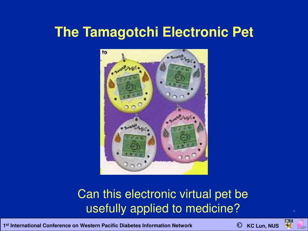 The Tamagotchi Electronic Pet