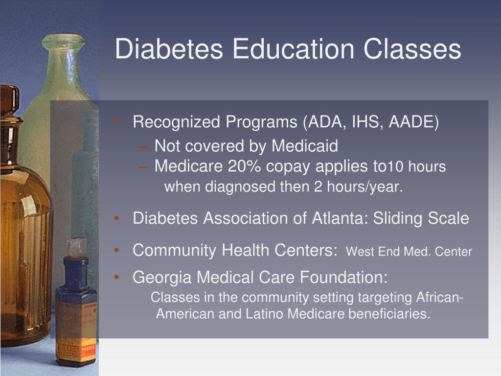 Diabetes Education Classes