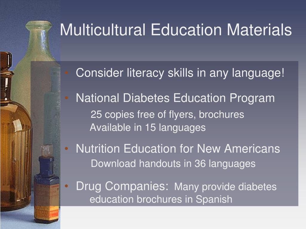 Multicultural Education Materials