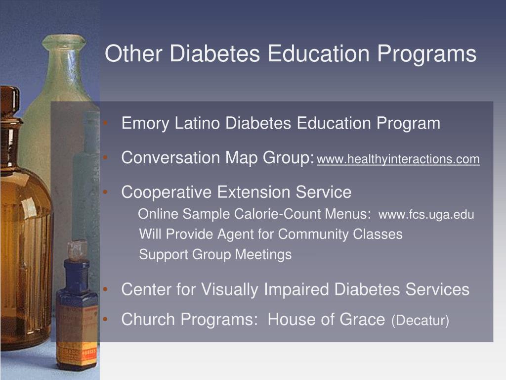 Other Diabetes Education Programs