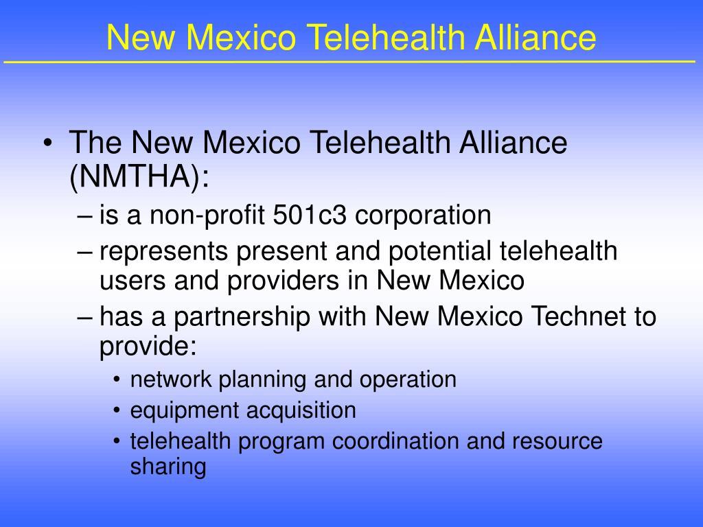 New Mexico Telehealth Alliance