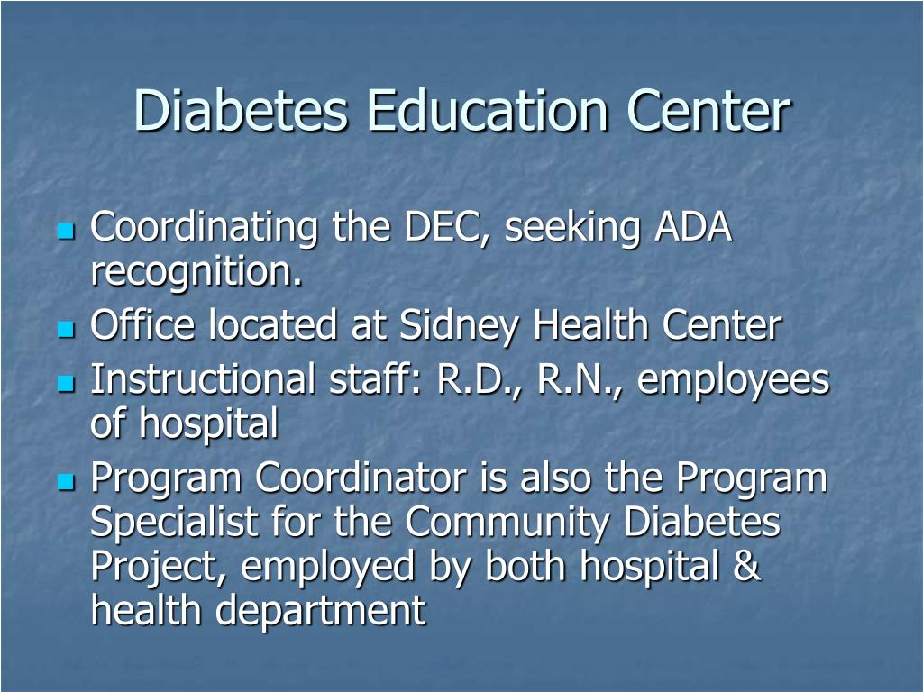 Diabetes Education Center