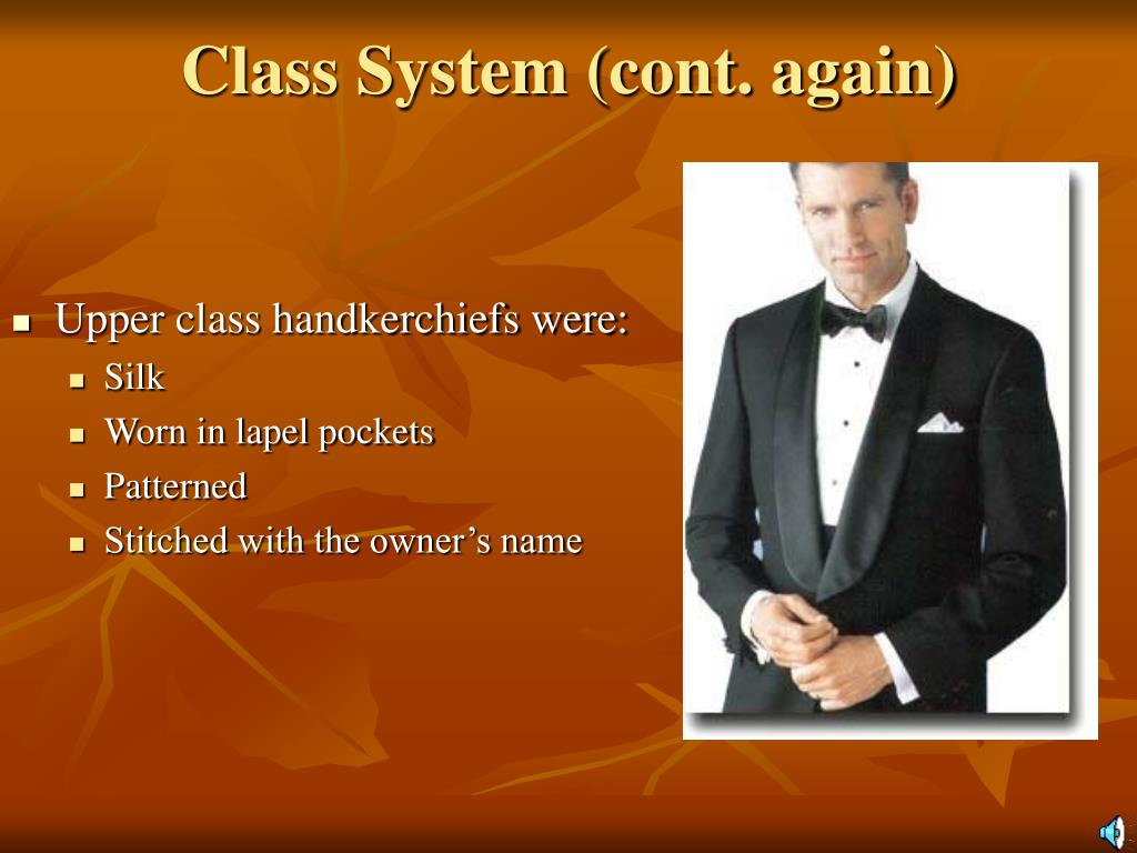 Class System (cont. again)