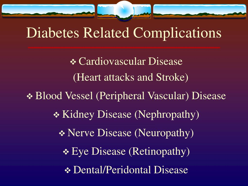 Diabetes Related Complications
