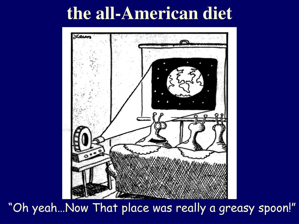 the all-American diet