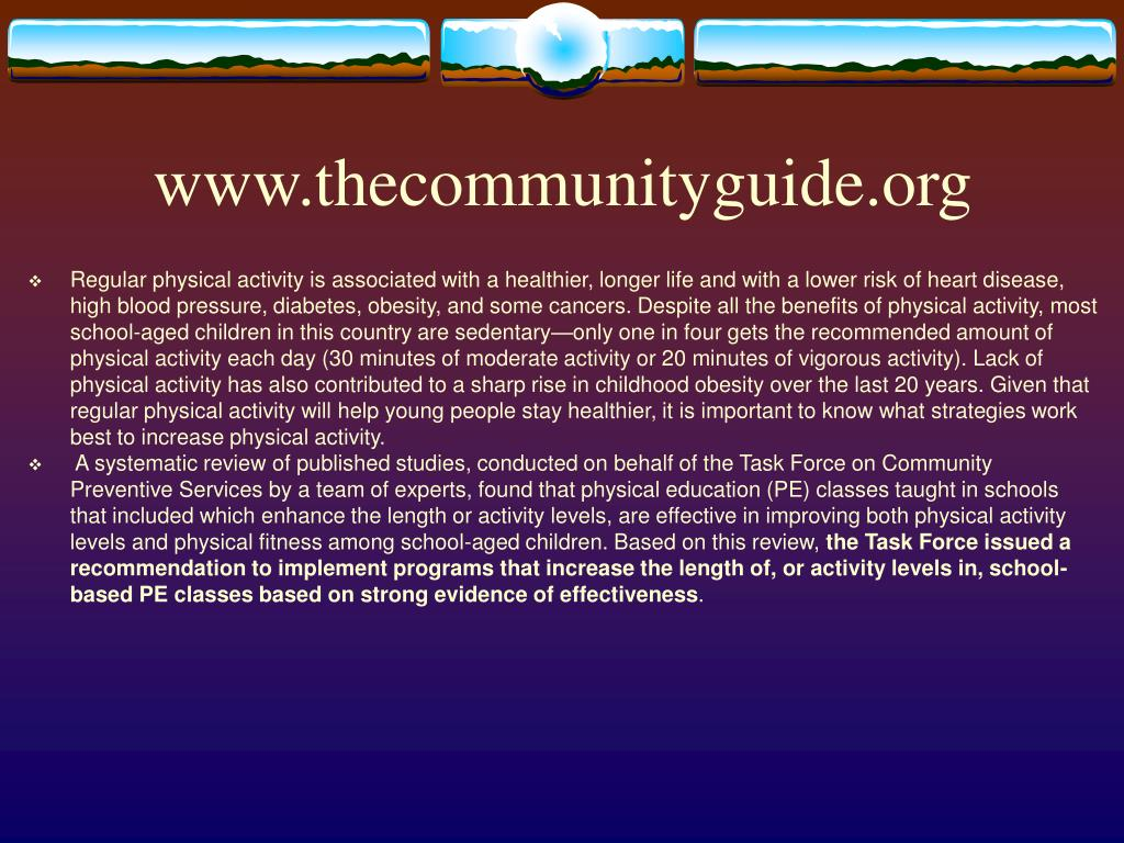 www.thecommunityguide.org