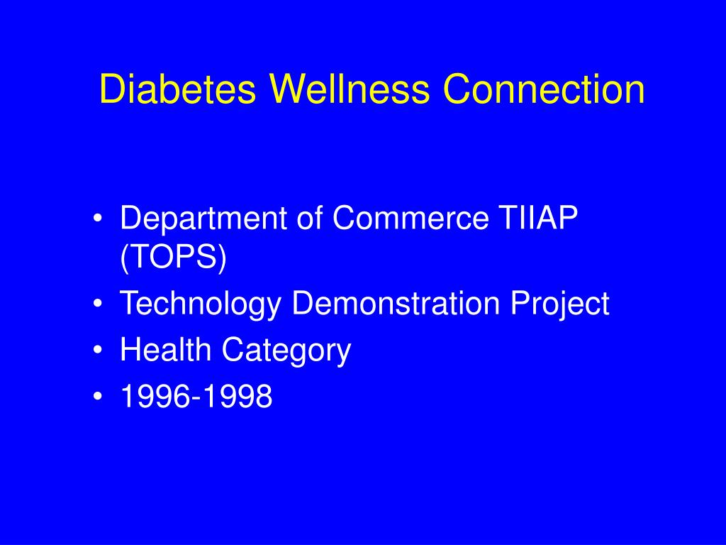 Diabetes Wellness Connection