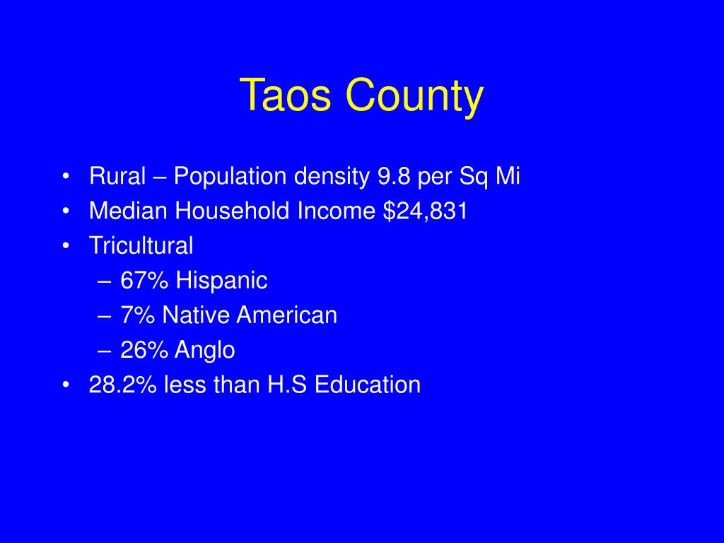 Taos County