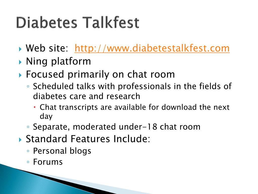 Diabetes Talkfest