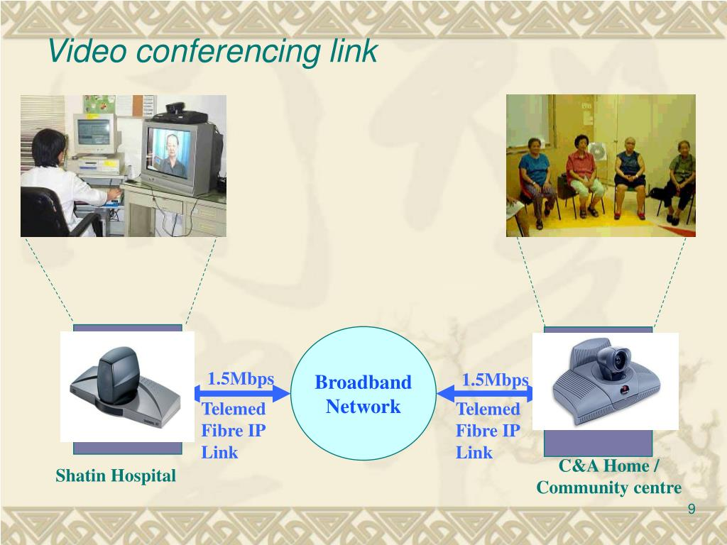 Video conferencing link