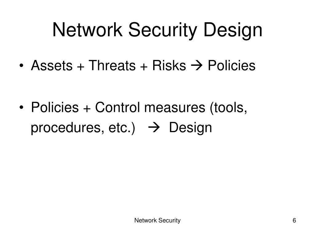 Network Security Design