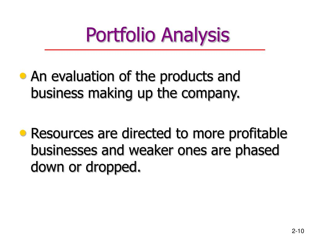 customer portfolio analysis Manage your customer portfolio  once you have all the information in one place, you can do various types of analysis the purpose of the analysis is to discover differences and similarities among different customers this helps determine your business strategy, customer portfolio, and customer relationship plan.
