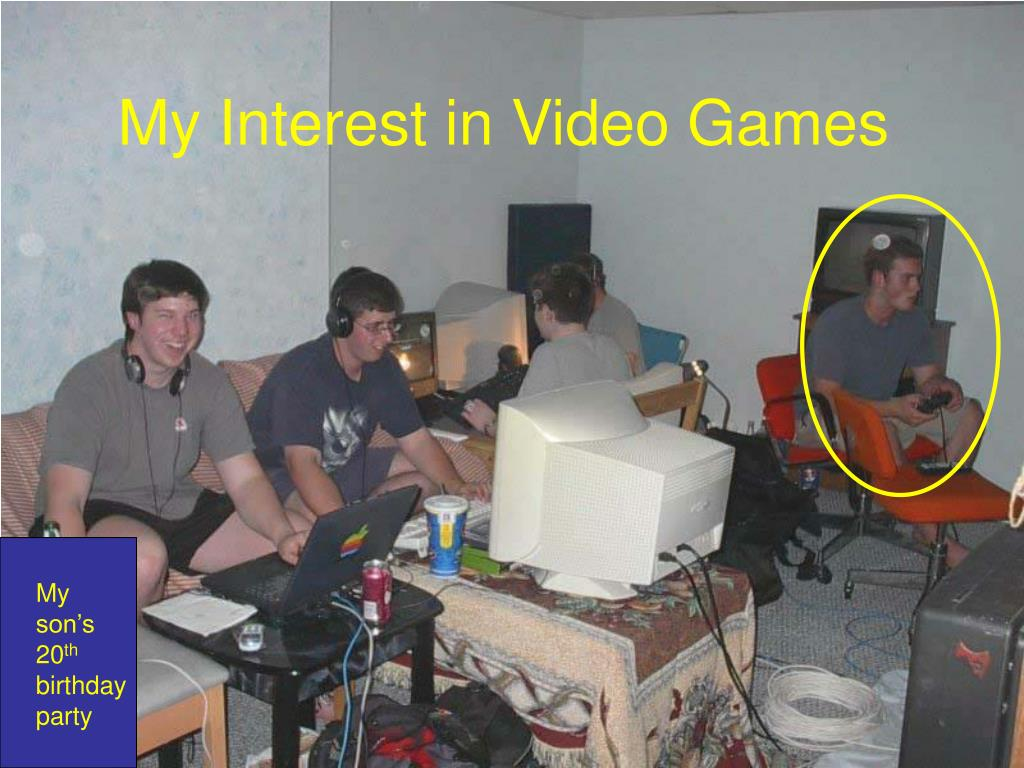 My Interest in Video Games
