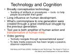technology and cognition