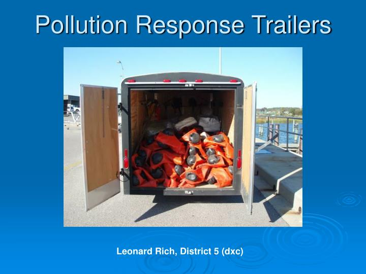 Pollution response trailers2