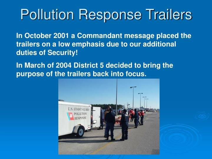 Pollution response trailers3