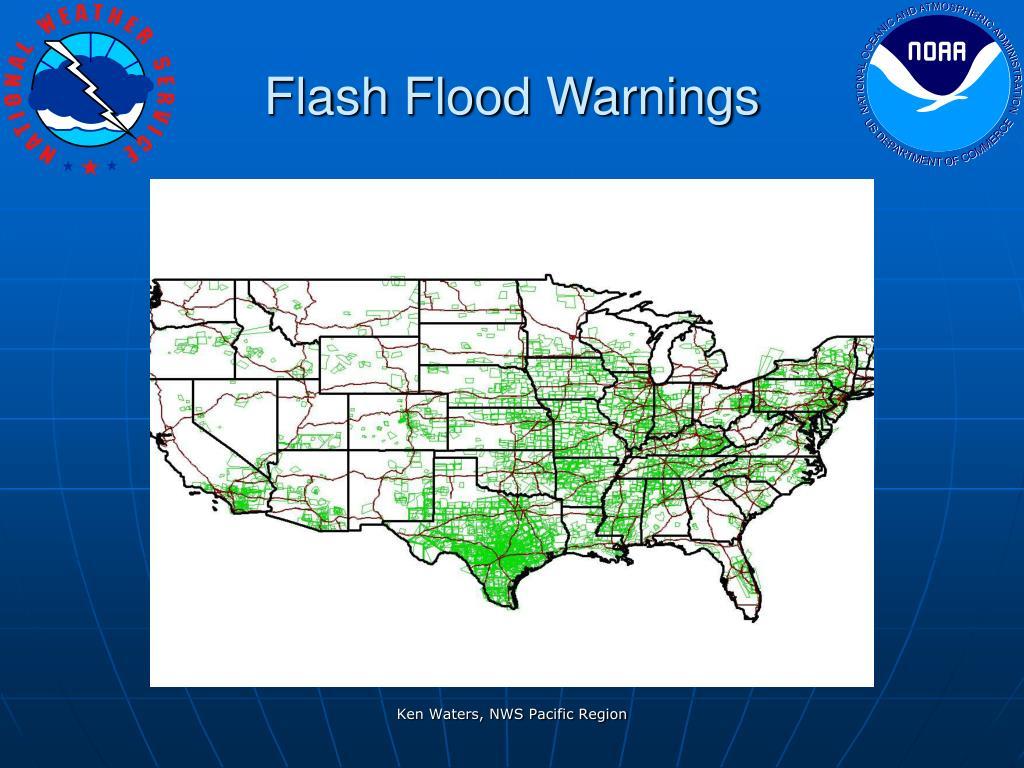 Flash Flood Warnings