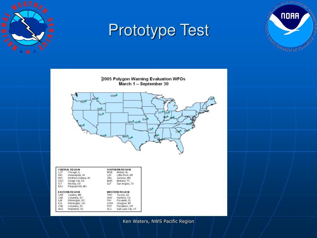 Prototype Test