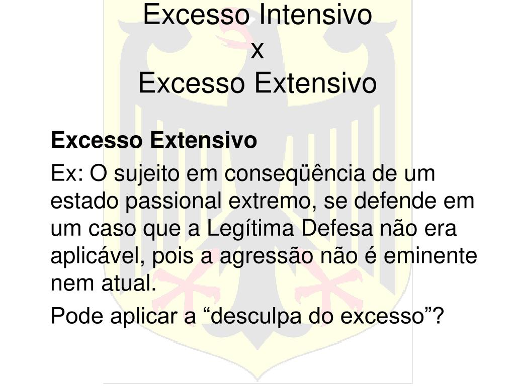 Excesso Intensivo