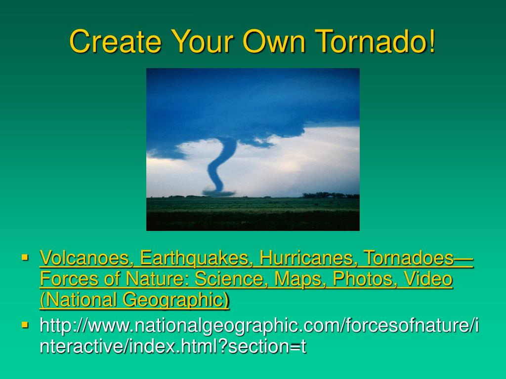 Create Your Own Tornado!