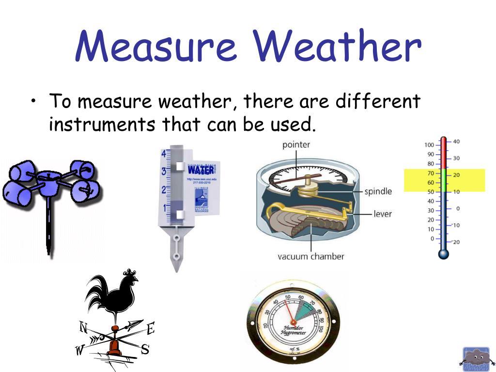 Measure Weather