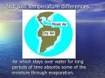 not just temperature differences
