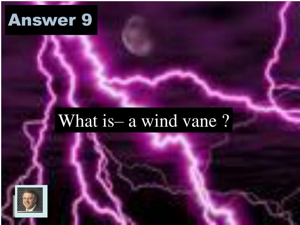 Answer 9
