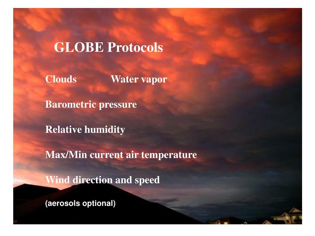 GLOBE Protocols