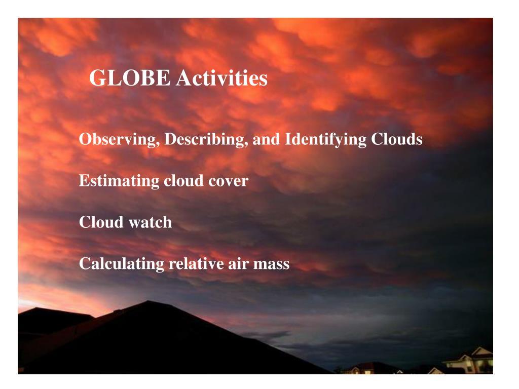 GLOBE Activities