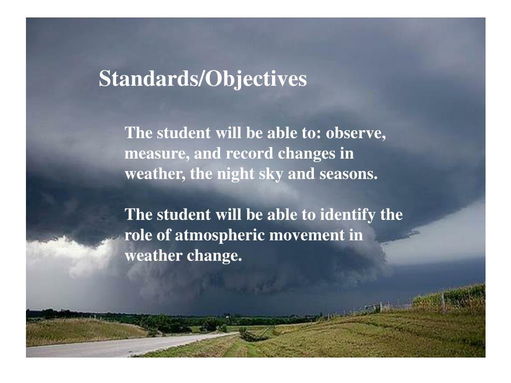 Standards/Objectives