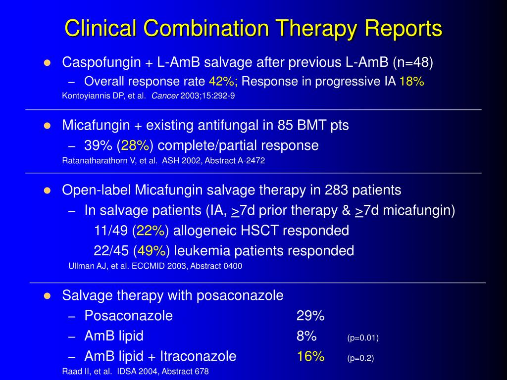 Clinical Combination Therapy Reports