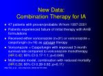 new data combination therapy for ia