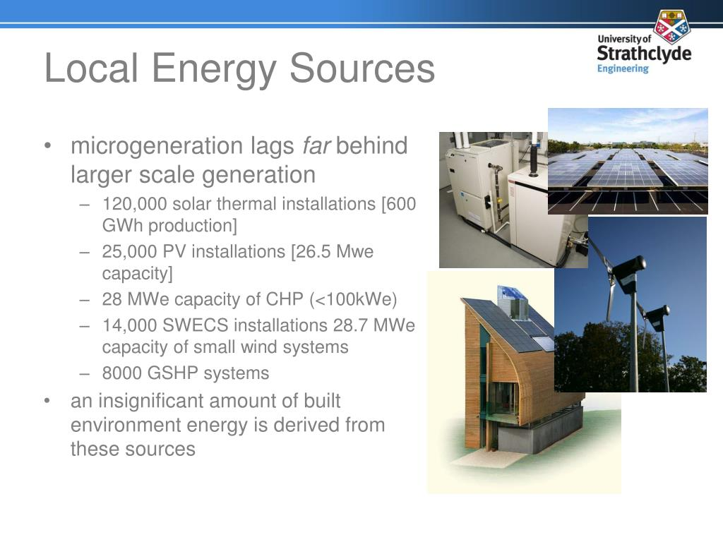 Local Energy Sources