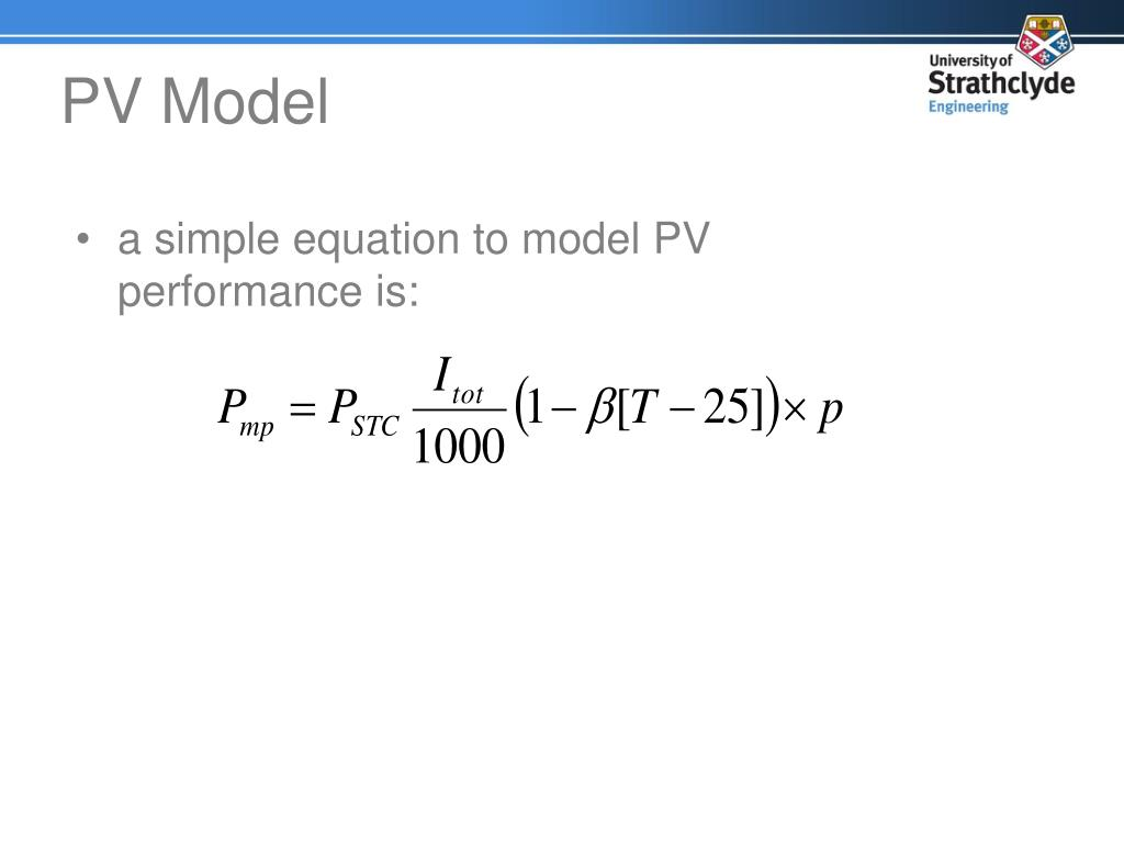 PV Model