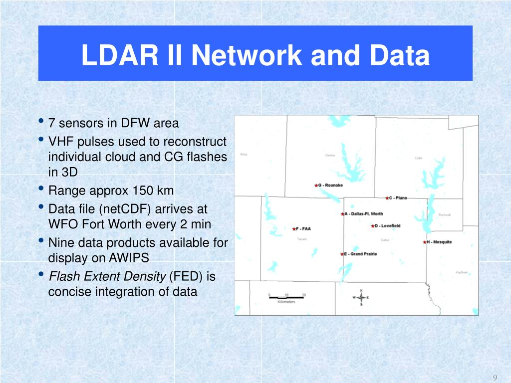 LDAR II Network and Data