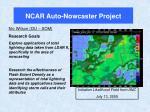 ncar auto nowcaster project