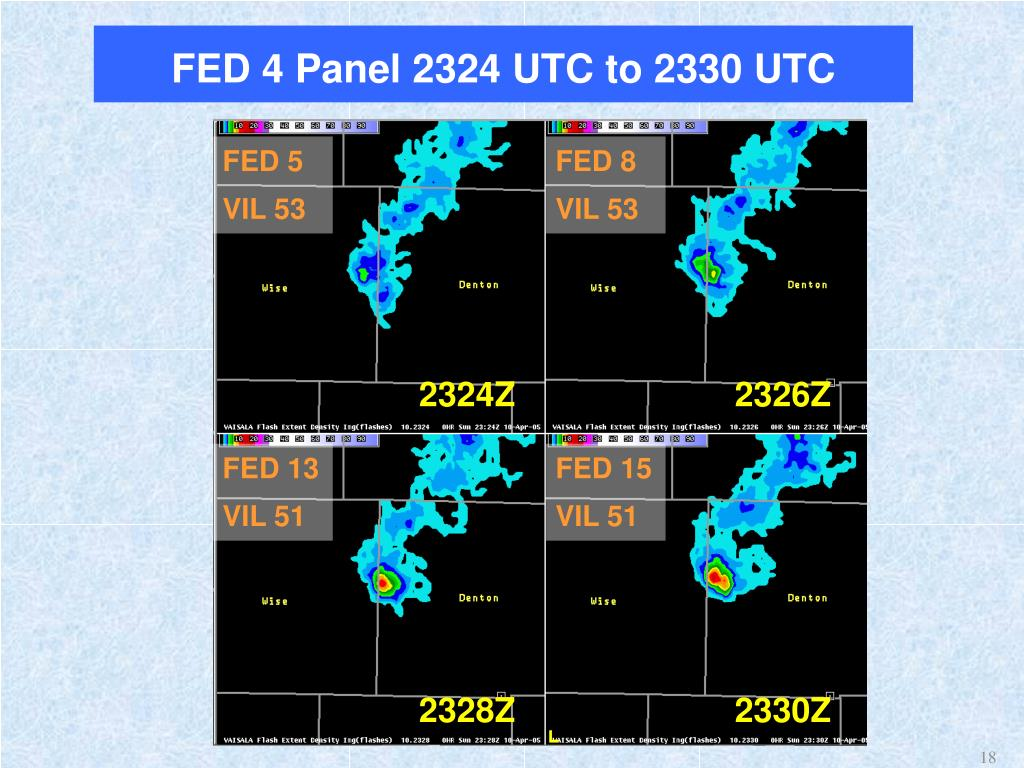 FED 4 Panel 2324 UTC to 2330 UTC