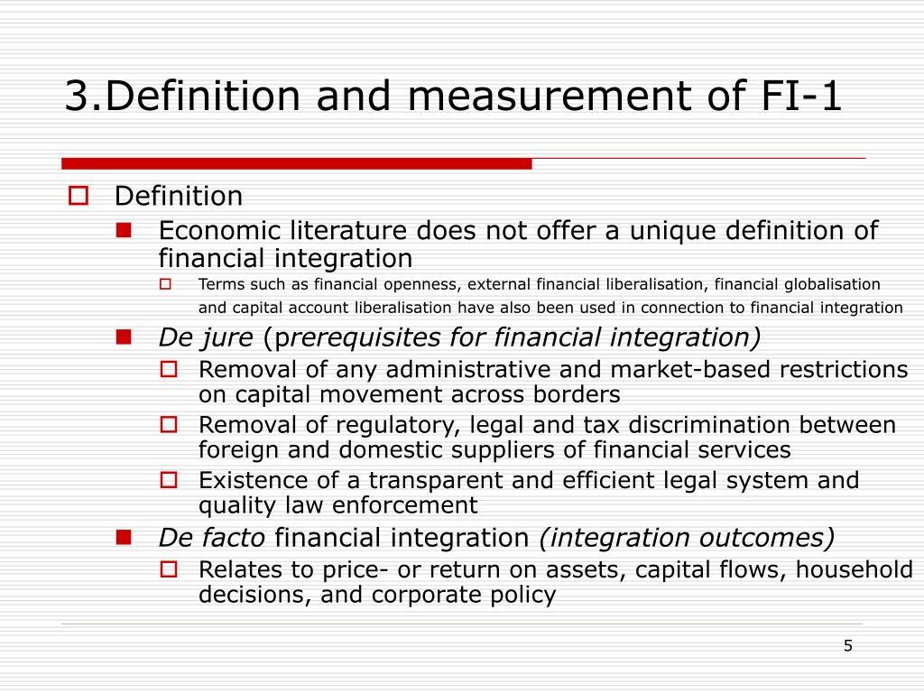 3.Definition and measurement of FI-1