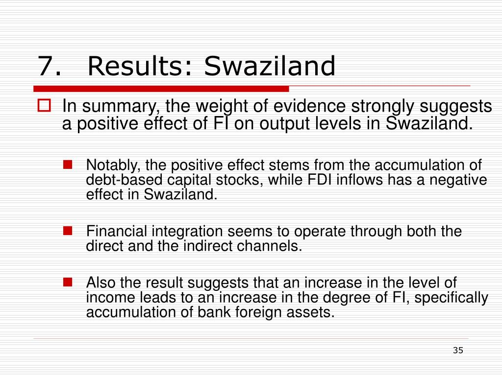 7.Results: Swaziland