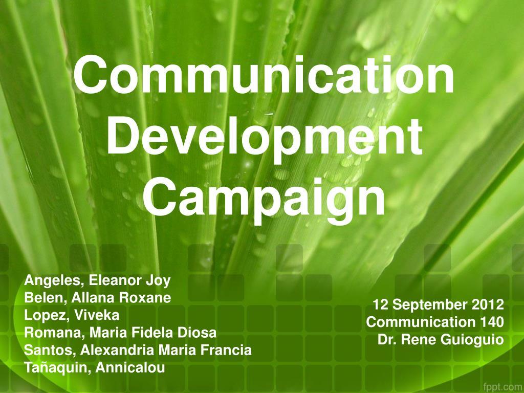 Communication Development Campaign
