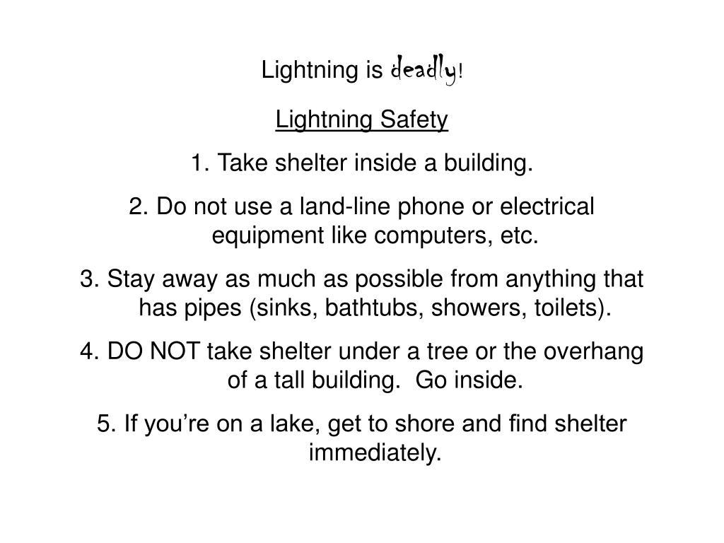 Lightning is