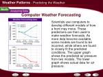 computer weather forecasting