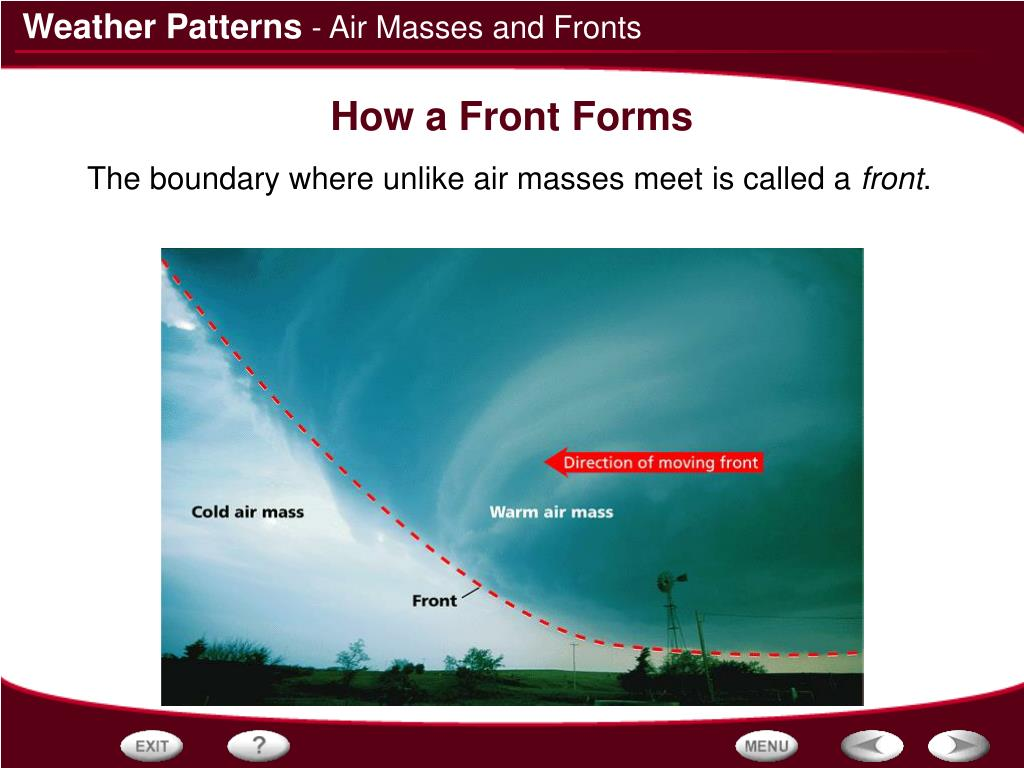- Air Masses and Fronts